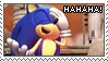 The Sonic Laughter Stamp by LightningChaos2010