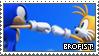 Brofist Stamp by LightningChaos2010