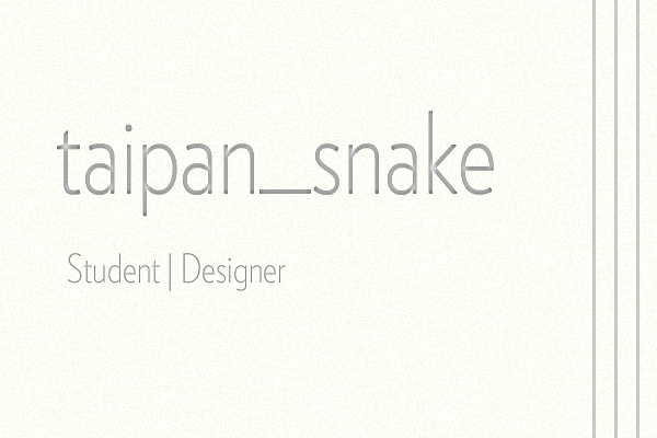 taipan-snake's Profile Picture