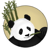 Panda by LadyMidnightSolace