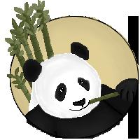 Panda by LadyMidnightSolace