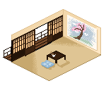 Japanese Room by LadyMidnightSolace