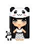 Panda Girl Mascot by LadyMidnightSolace
