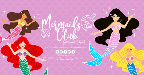 ''Mermaids Club''  Facebook Group by M.A