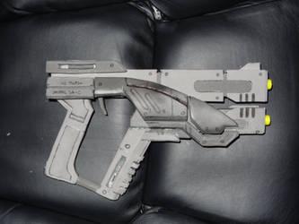 M-3 Predator Pistol Prop W.I.P. by Dain-Bramaged-01