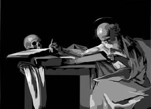 Caravaggio Value Study