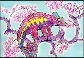 Chameleon II by Dana-Ulama