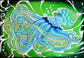 Octopus by Dana-Ulama