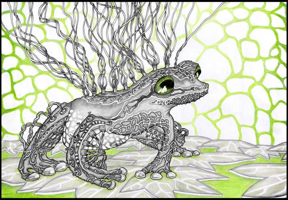 Frog From Future Matrix by Dana-Ulama