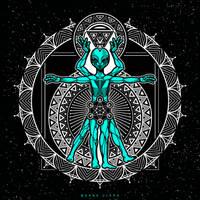 Vitruvian Alien by Dana-Ulama