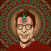 Trippy Goldblum by Dana-Ulama