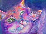 Parenthood AKA Cheshire's Baby - Acrylic - 2014