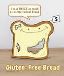 Gluten-Free - Bread Humor