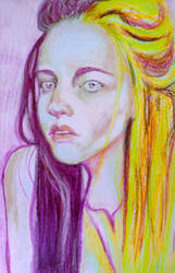 Analiese Pastel Painting Drawing Woman Portrait
