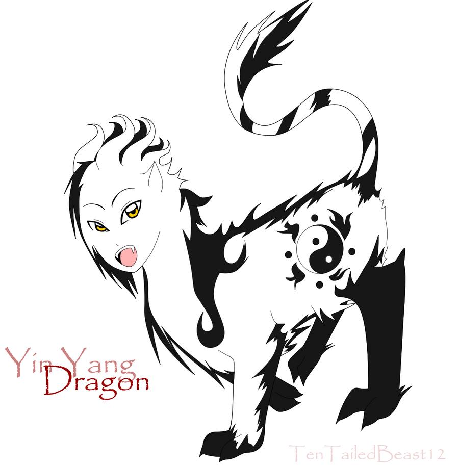 Chibi, Ying Yang Dragon by Tentailedbeast12 on DeviantArt