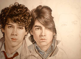 Jonas Brothers--WIP by Amelia-Beth