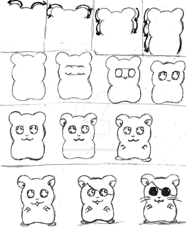 Uncategorized How To Draw Hamsters how to draw hamsters by strawberryfactory on deviantart strawberryfactory