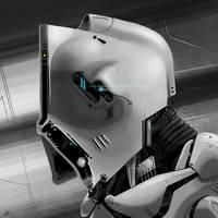 Robot Head by simonfetscher