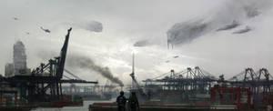Hong Kong Invasion by simonfetscher