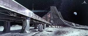 Lunar Base by simonfetscher