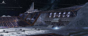 Lunar Base 2 by simonfetscher