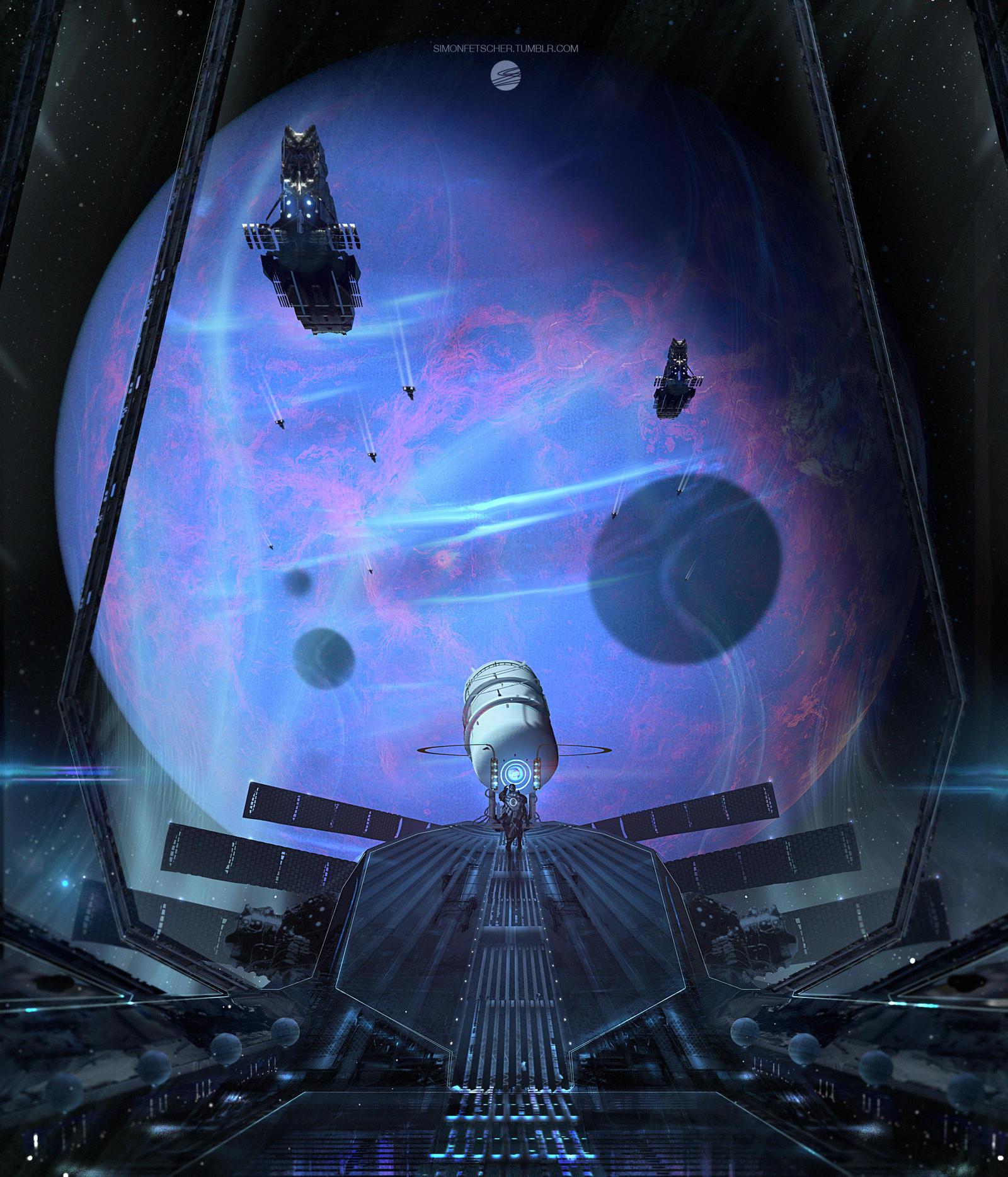 Observation deck by simonfetscher