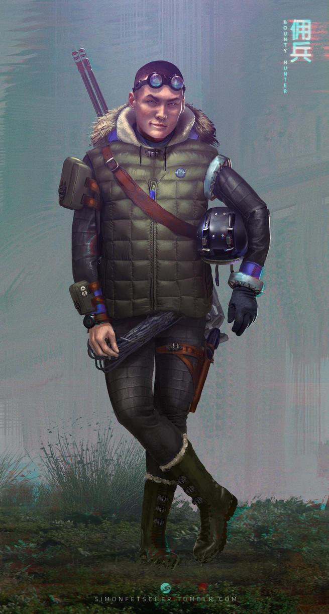 Bounty Hunter by simonfetscher
