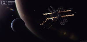 UCSF Moon Orbiter by simonfetscher