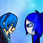 Madness Crystal Blue Vs Gacha Studios Cykopath by CrystalBluHunter56