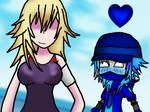 DJ Ninja Blue Love Mio Kusokai by CrystalBluHunter56