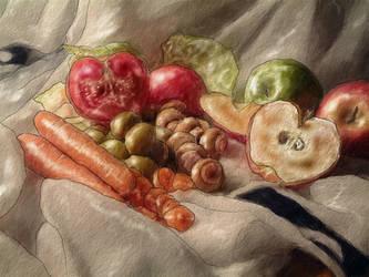 Fruit and Veggie Still Life