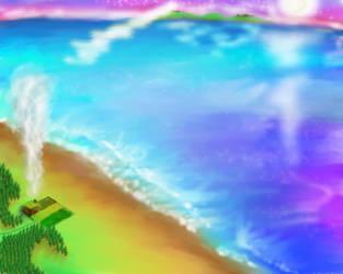Acid Trip Ocean by kaderoboy