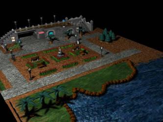 Lupin Bourg - Citadel Island by kaderoboy