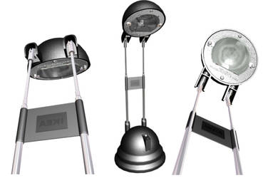 My IKEA Lamp in 3d by kaderoboy