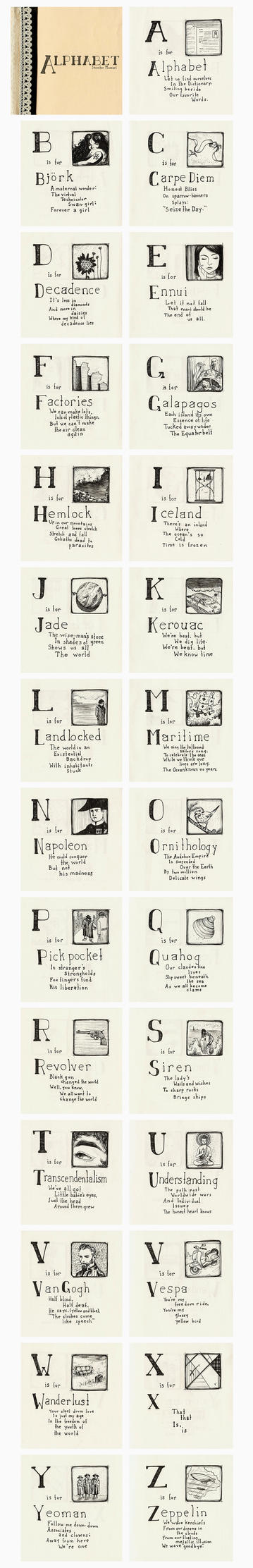 A is for Alphabet by JenMussari