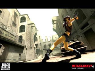 Metal Gear Revy by vihena