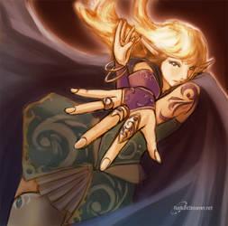 Elf Girl by vihena