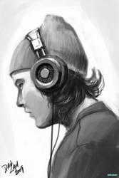 Headphone Guy by vihena