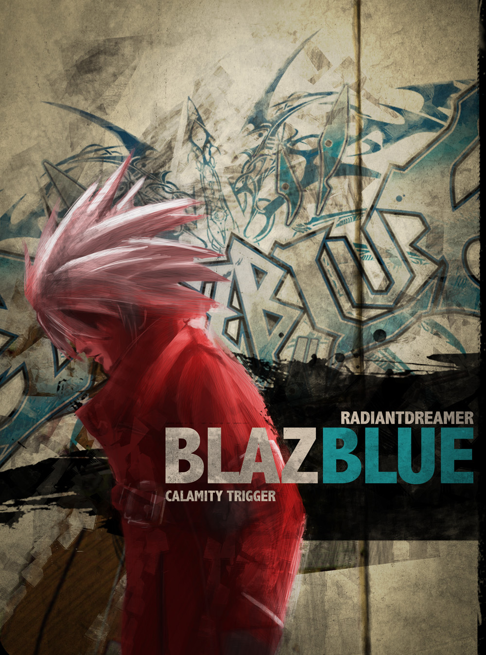 Blazblue Official EU poster by vihena