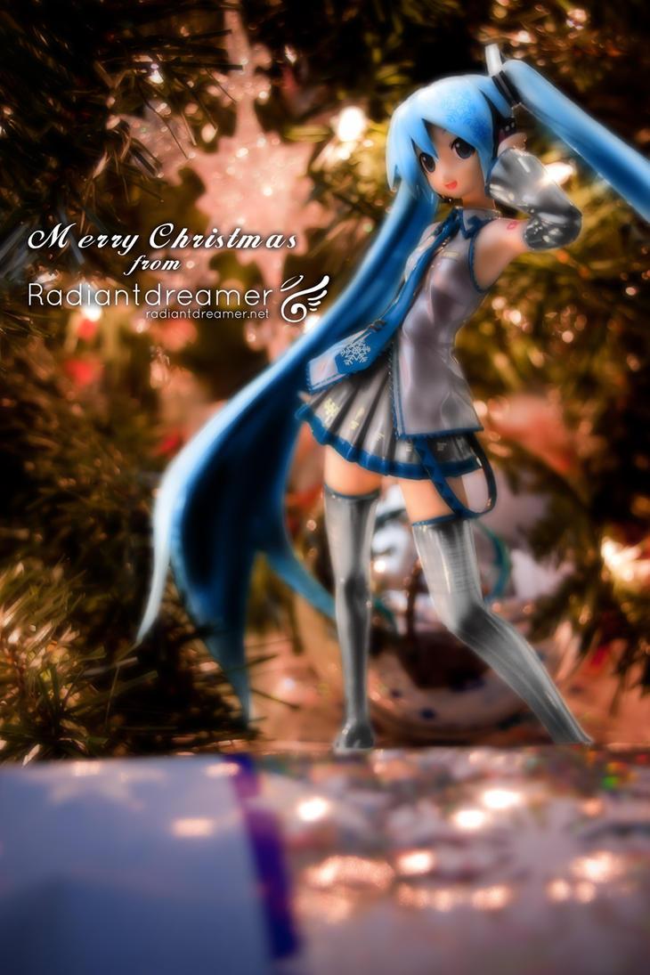 Snow Miku Christmas by vihena