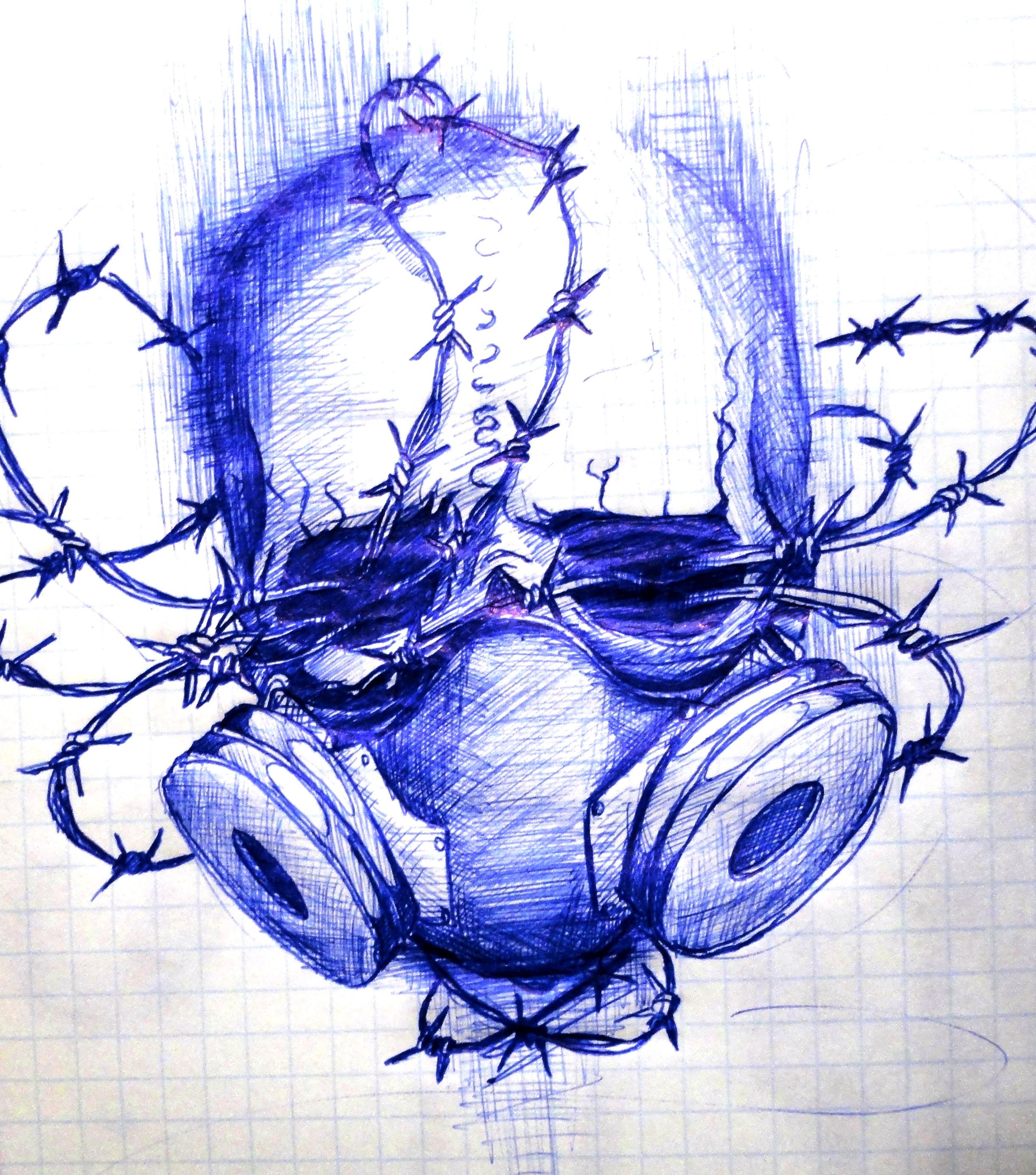 skull by O-organ