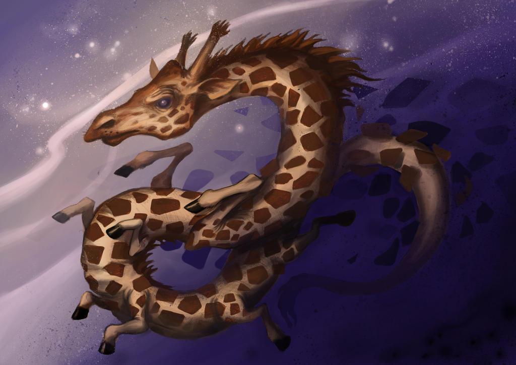 Giraffe by O-organ