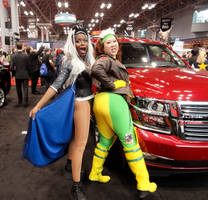 Car: Storm and Rogue, booty girls by TheSpazOutLoud