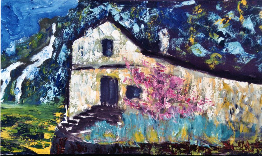 Italian Farmhouse by mountainlegend