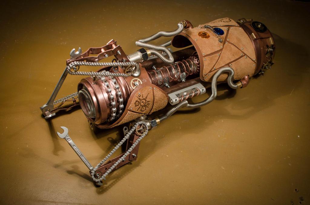 Steampunk Portal Gun 2 by case15