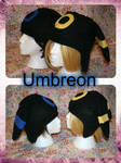 Umbreon and Shiny Umbreon hat by IceDragonCollection