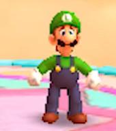 Luigi looks kinda worried by Sandrag1