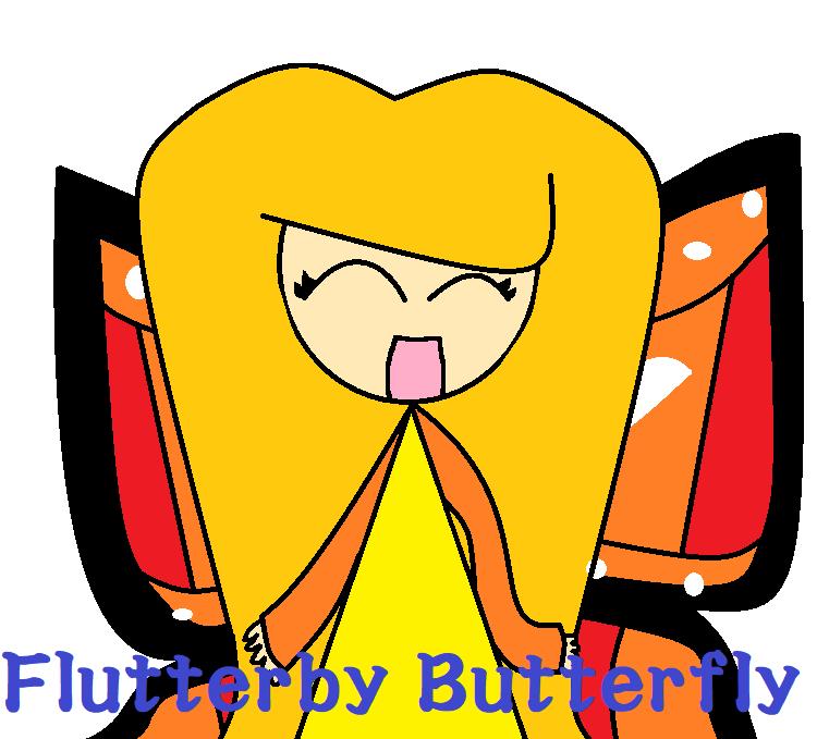 Flutterby Butterfly by Sandrag1