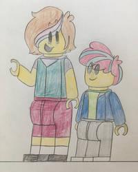 Astrid and Charlie by katiemae12