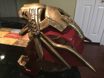 Iron Merman helmet by aracknoid3